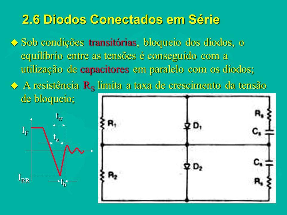 2.6 Diodos Conectados em Série