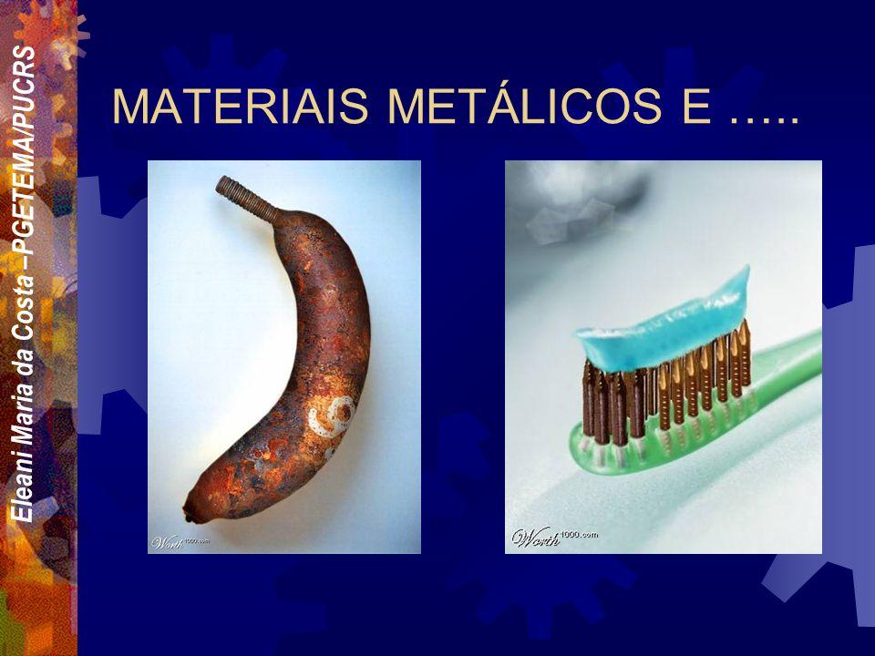 MATERIAIS METÁLICOS E …..
