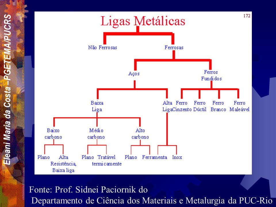 Fonte: Prof. Sidnei Paciornik do