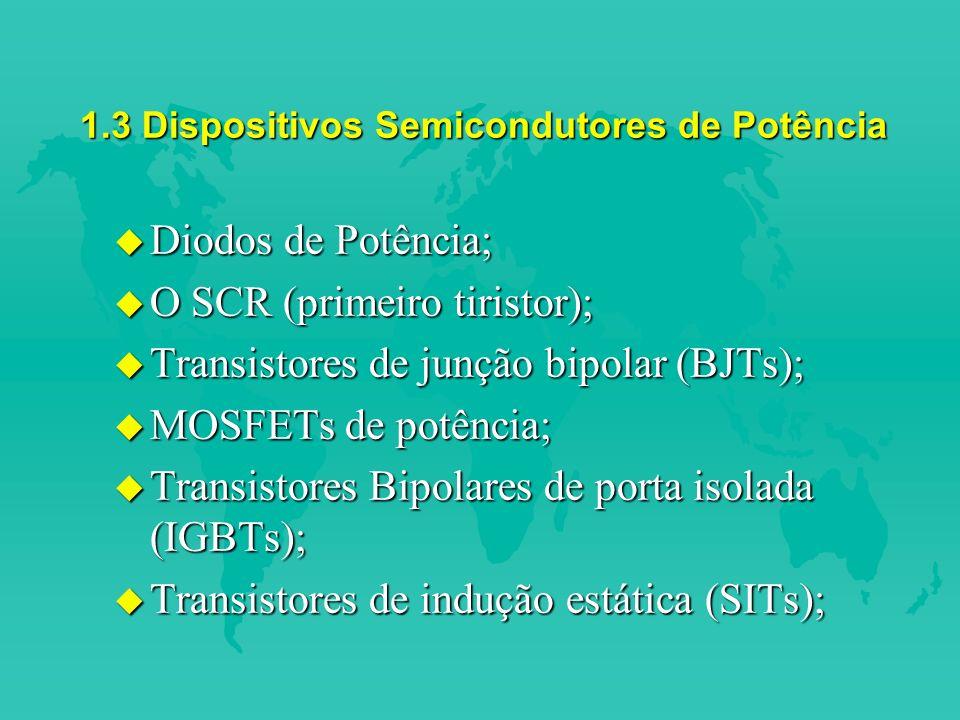 1.3 Dispositivos Semicondutores de Potência