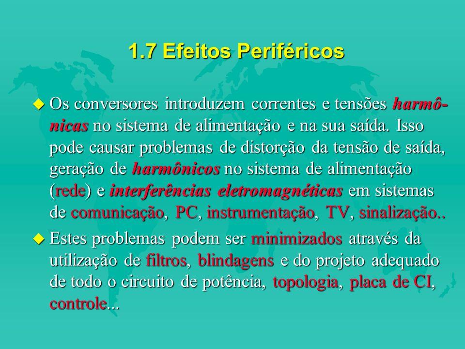 1.7 Efeitos Periféricos
