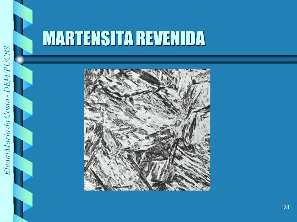 MARTENSITA REVENIDA