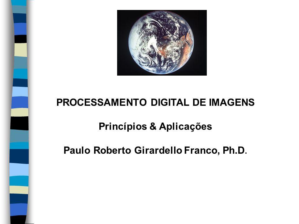 PROCESSAMENTO DIGITAL DE IMAGENS Princípios & Aplicações