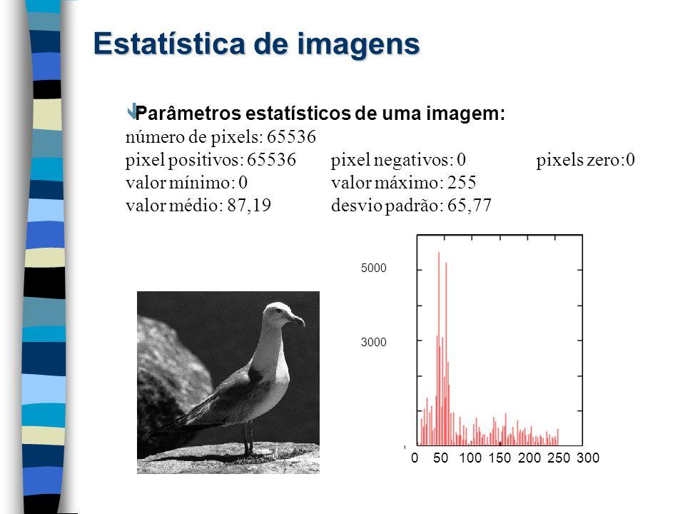 Estatística de imagens