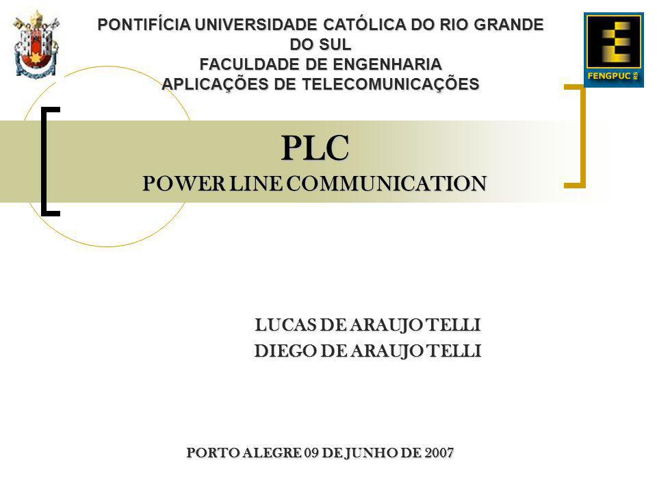 PLC POWER LINE COMMUNICATION