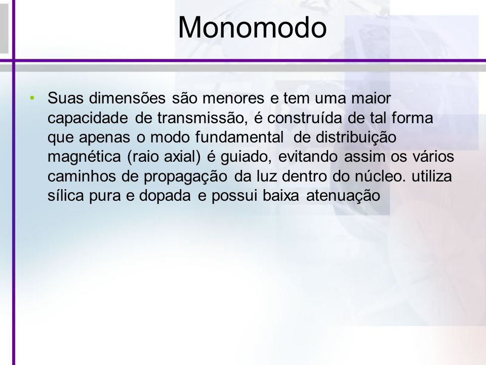 Monomodo