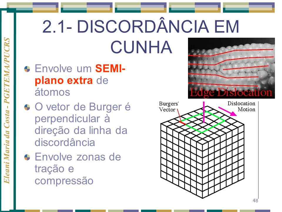 2.1- DISCORDÂNCIA EM CUNHA