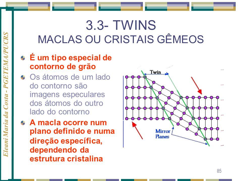 3.3- TWINS MACLAS OU CRISTAIS GÊMEOS