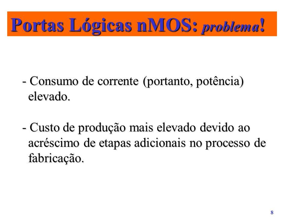 Portas Lógicas nMOS: problema!