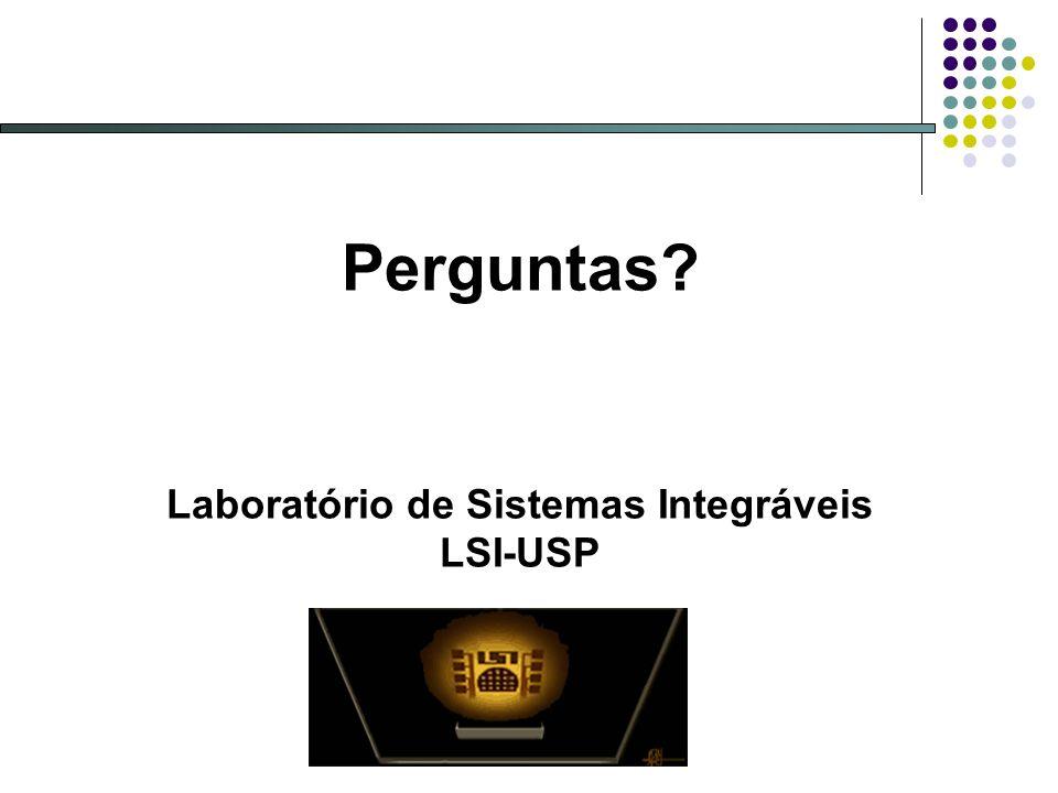 Laboratório de Sistemas Integráveis