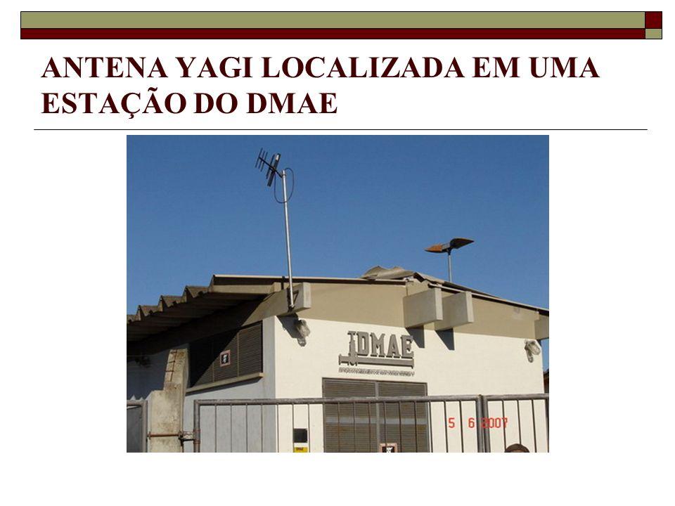 ANTENA YAGI LOCALIZADA EM UMA ESTAÇÃO DO DMAE