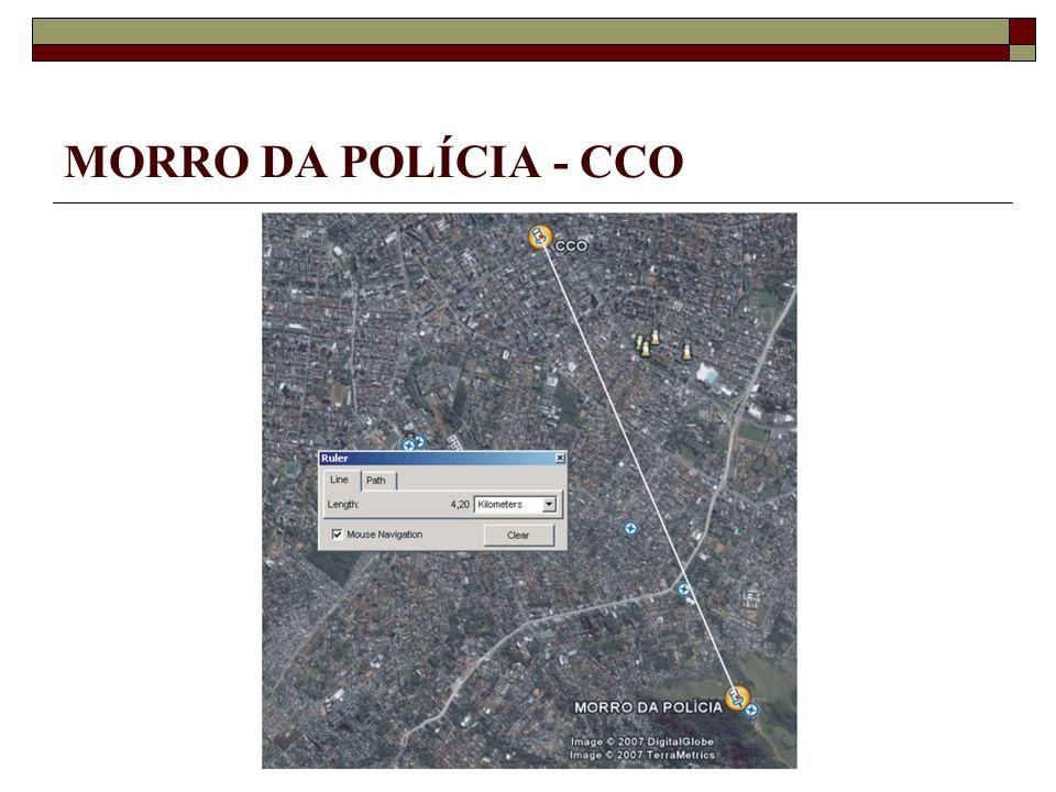 MORRO DA POLÍCIA - CCO