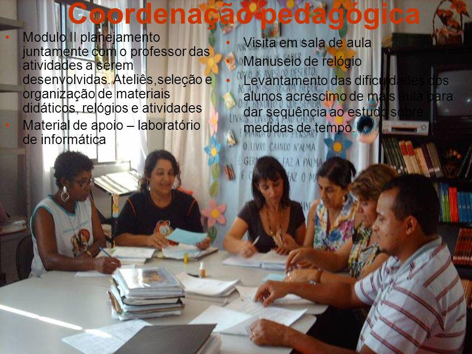 Coordenação pedagógica