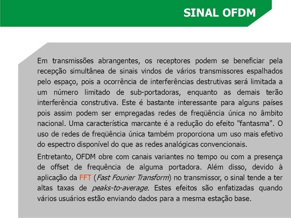 SINAL OFDM
