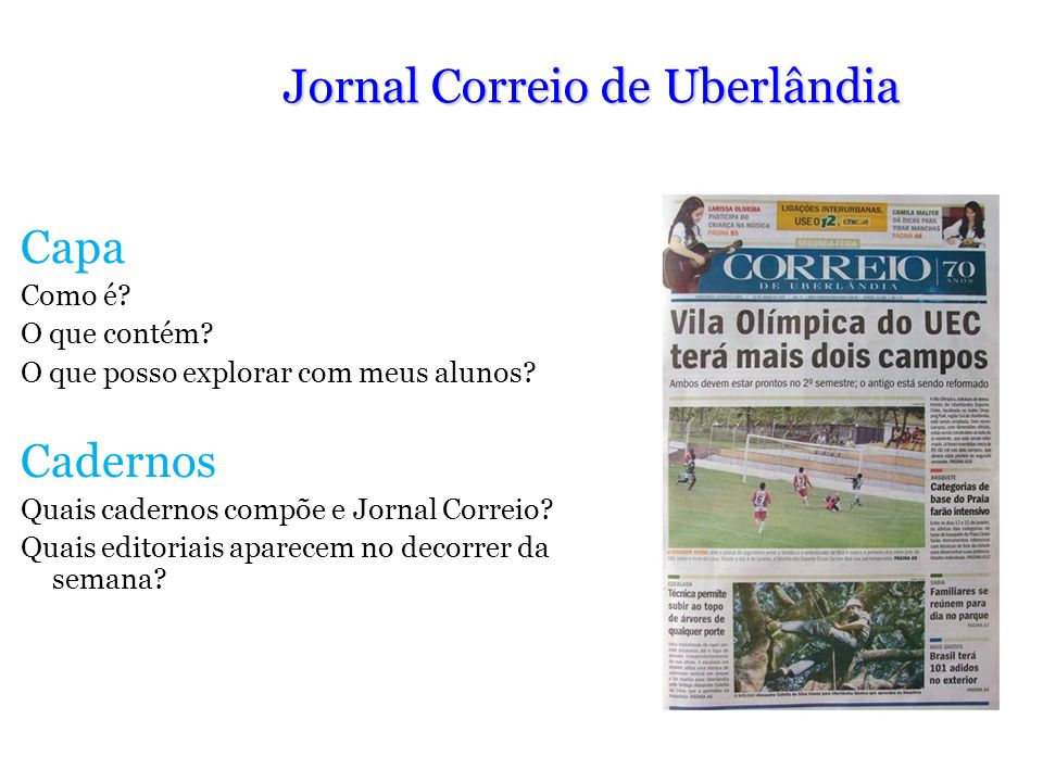 Jornal Correio de Uberlândia