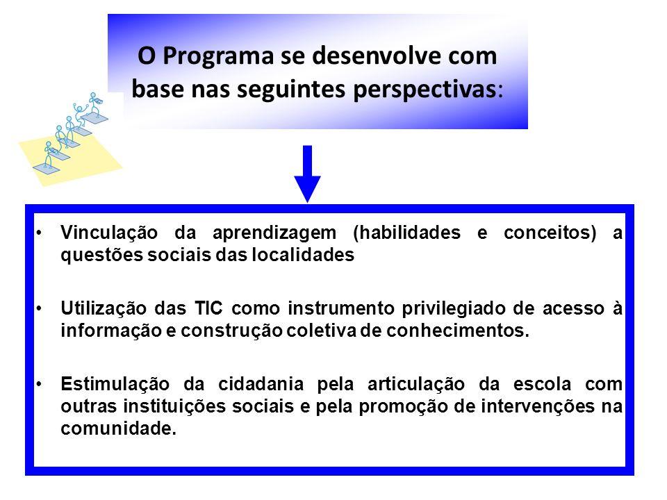 O Programa se desenvolve com base nas seguintes perspectivas:
