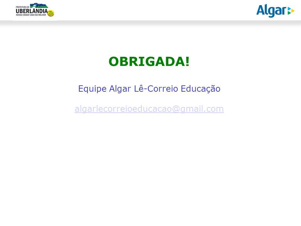 Equipe Algar Lê-Correio Educação