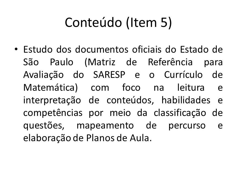 Conteúdo (Item 5)