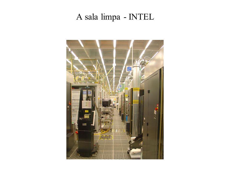 A sala limpa - INTEL