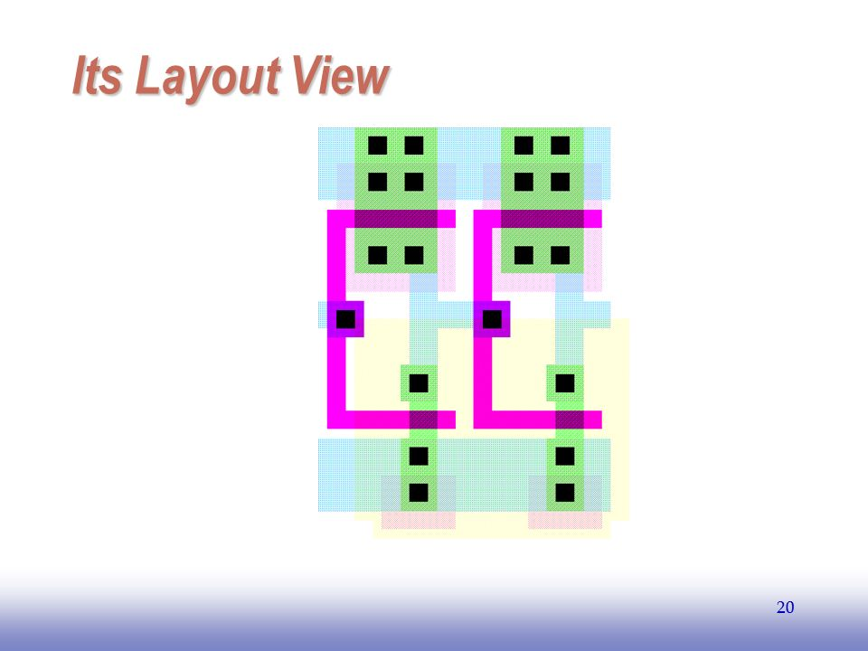 EE141 Its Layout View 20