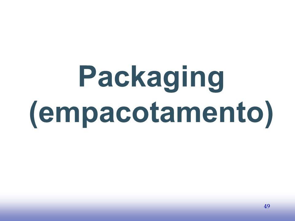 Packaging (empacotamento)