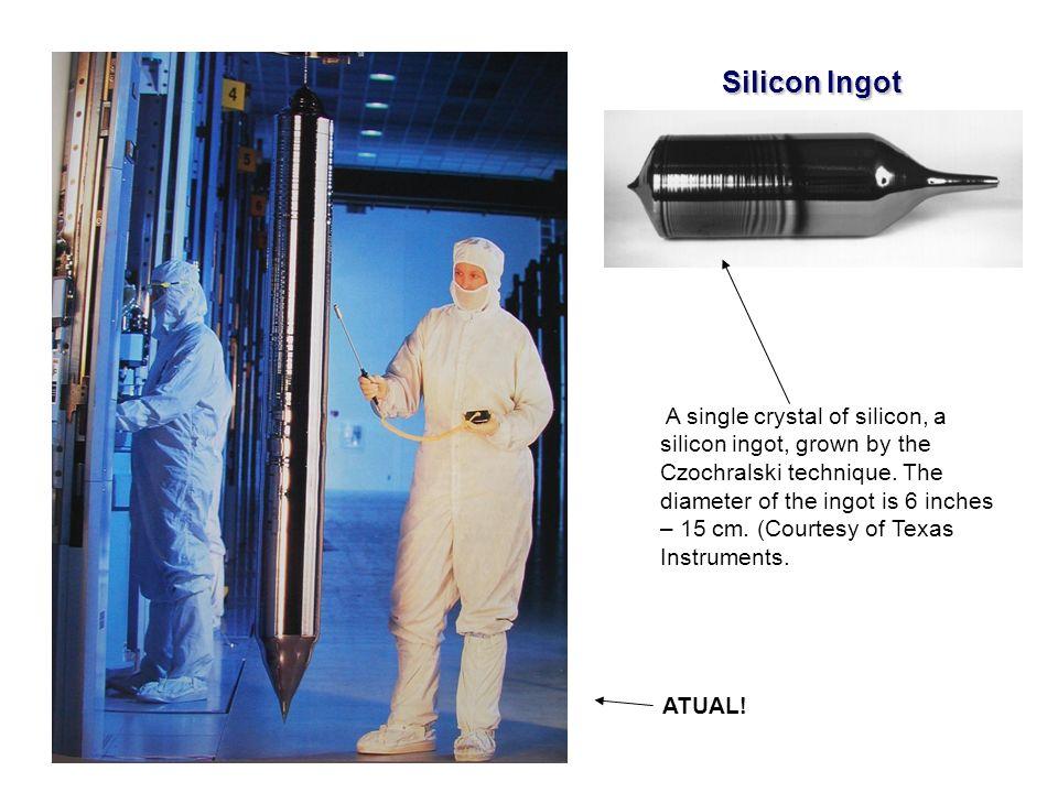 EE141 Silicon Ingot.