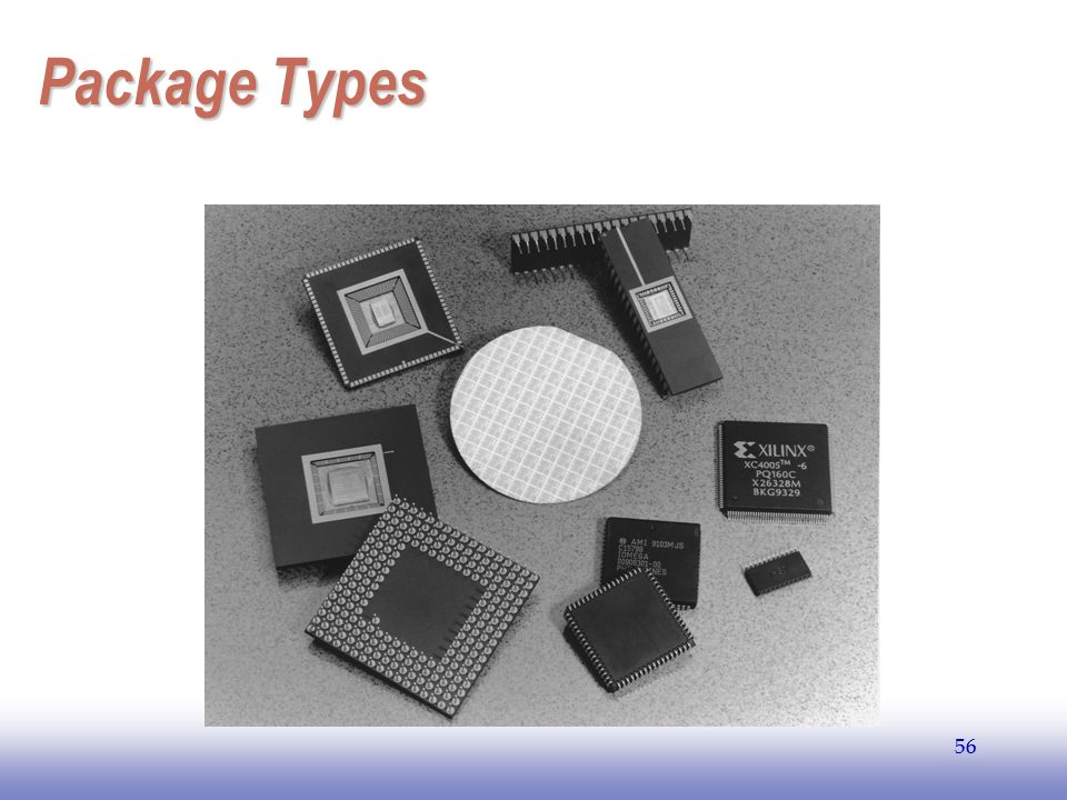 EE141 Package Types 56