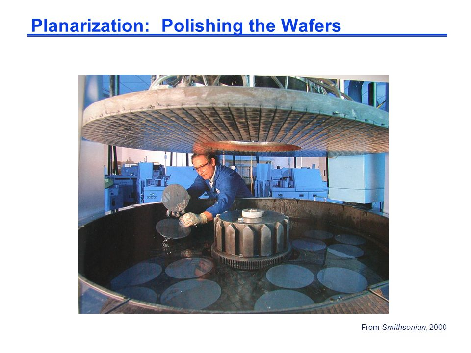 Planarization: Polishing the Wafers