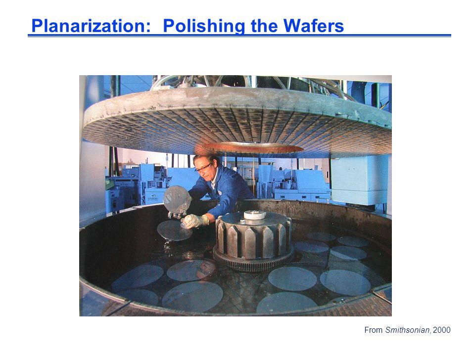 Planarization: Polishing the Wafers