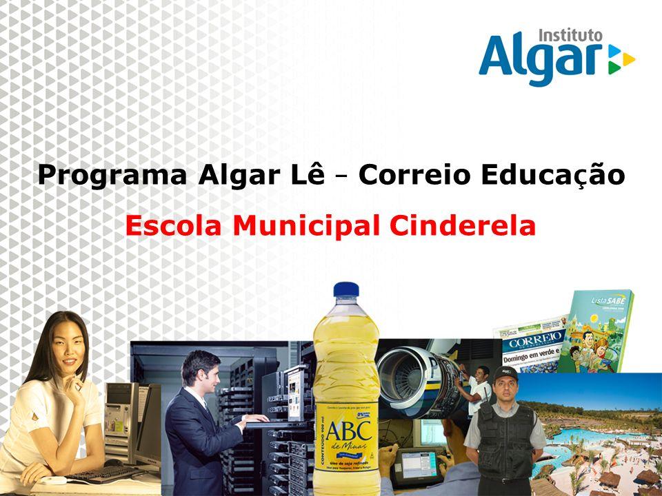 Programa Algar Lê – Correio Educação Escola Municipal Cinderela