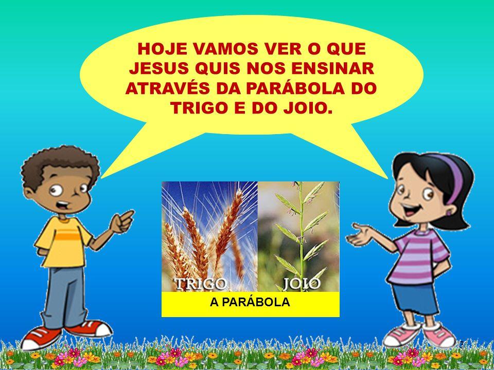 HOJE VAMOS VER O QUE JESUS QUIS NOS ENSINAR ATRAVÉS DA PARÁBOLA DO