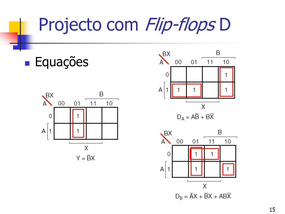 Projecto com Flip-flops D