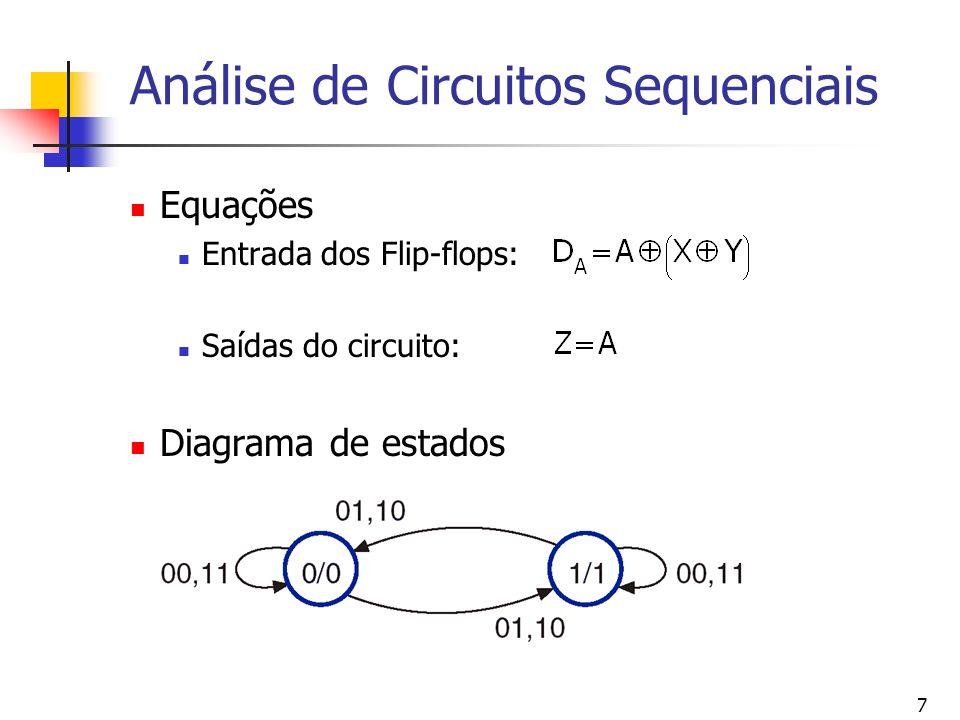 Análise de Circuitos Sequenciais