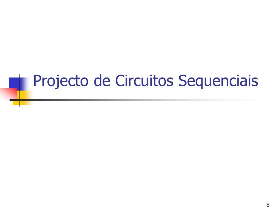 Projecto de Circuitos Sequenciais