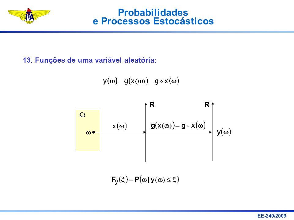 13. Funções de uma variável aleatória: