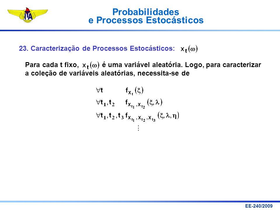 23. Caracterização de Processos Estocásticos: