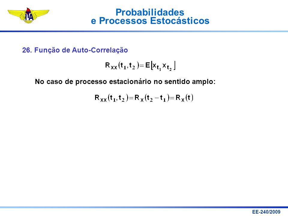 26. Função de Auto-Correlação