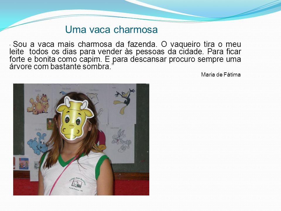 Uma vaca charmosa Maria de Fátima