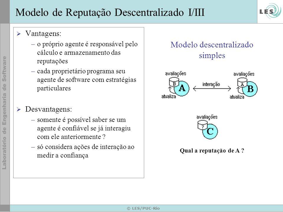 Modelo descentralizado simples