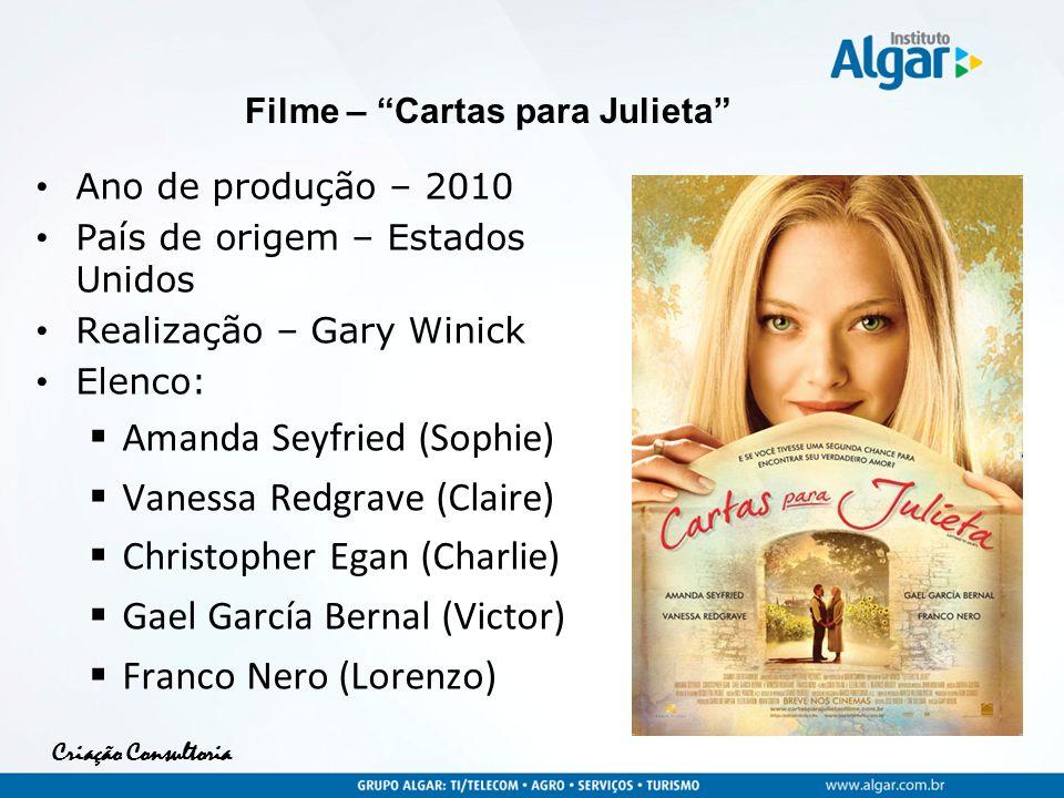 Filme – Cartas para Julieta