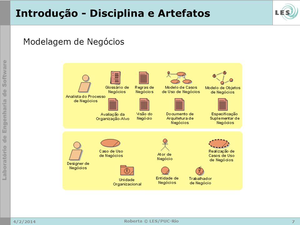 Introdução - Disciplina e Artefatos