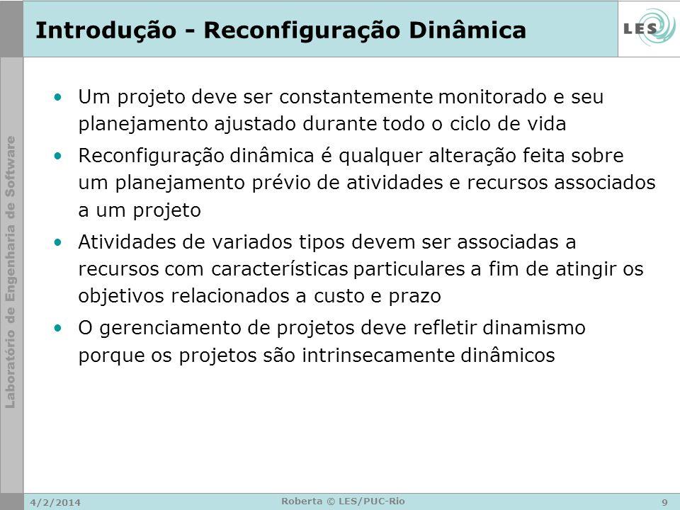 Introdução - Reconfiguração Dinâmica