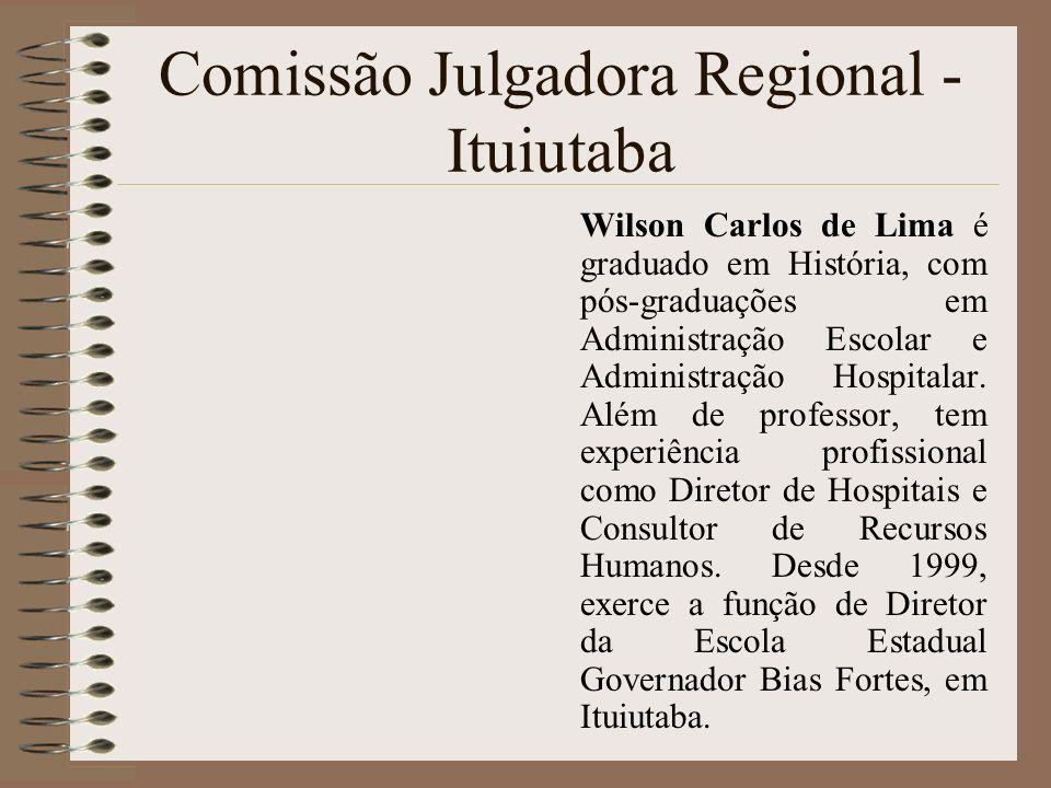 Comissão Julgadora Regional - Ituiutaba