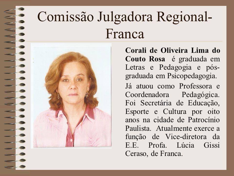 Comissão Julgadora Regional- Franca