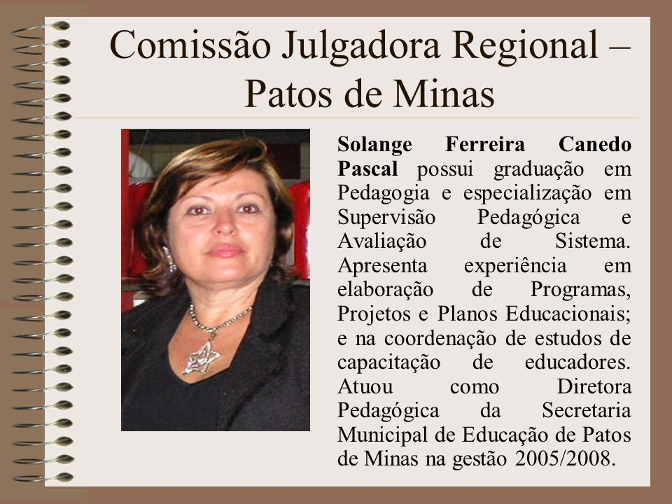 Comissão Julgadora Regional – Patos de Minas