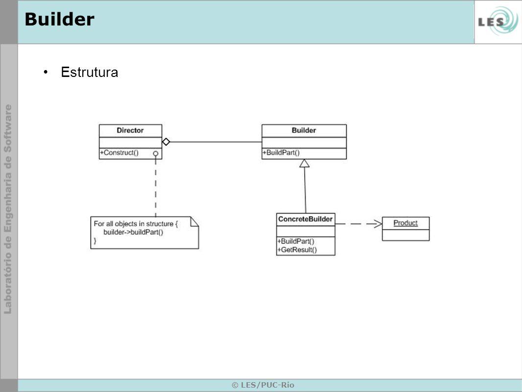 Builder Estrutura © LES/PUC-Rio