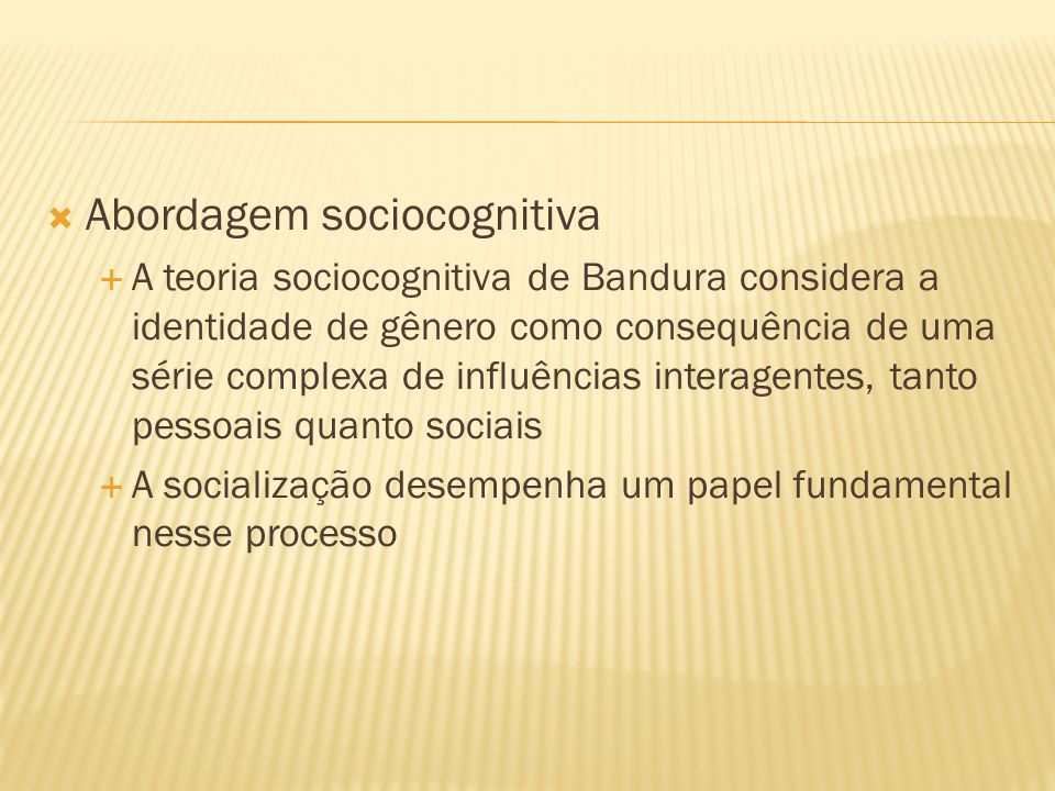Abordagem sociocognitiva
