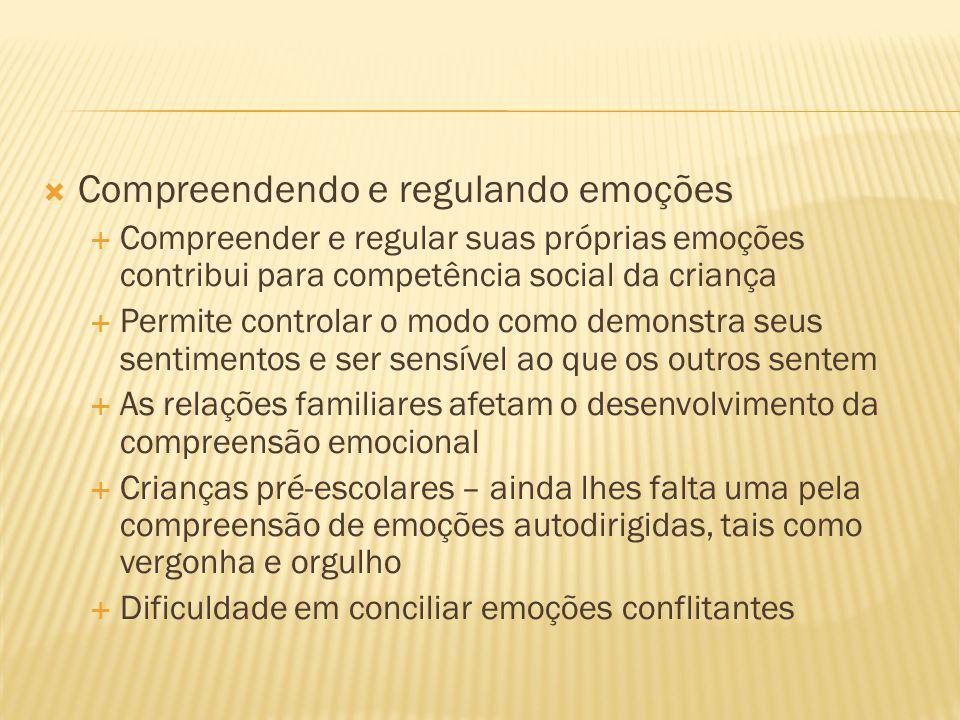Compreendendo e regulando emoções