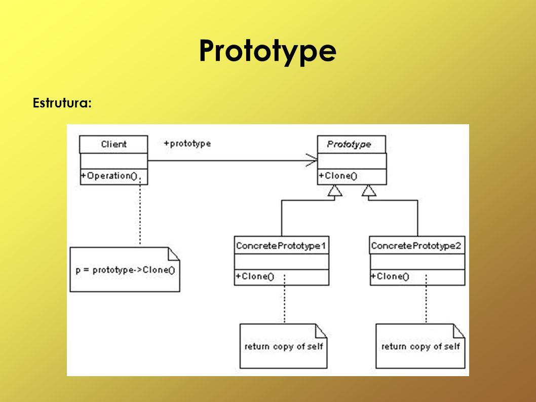 Prototype Estrutura:
