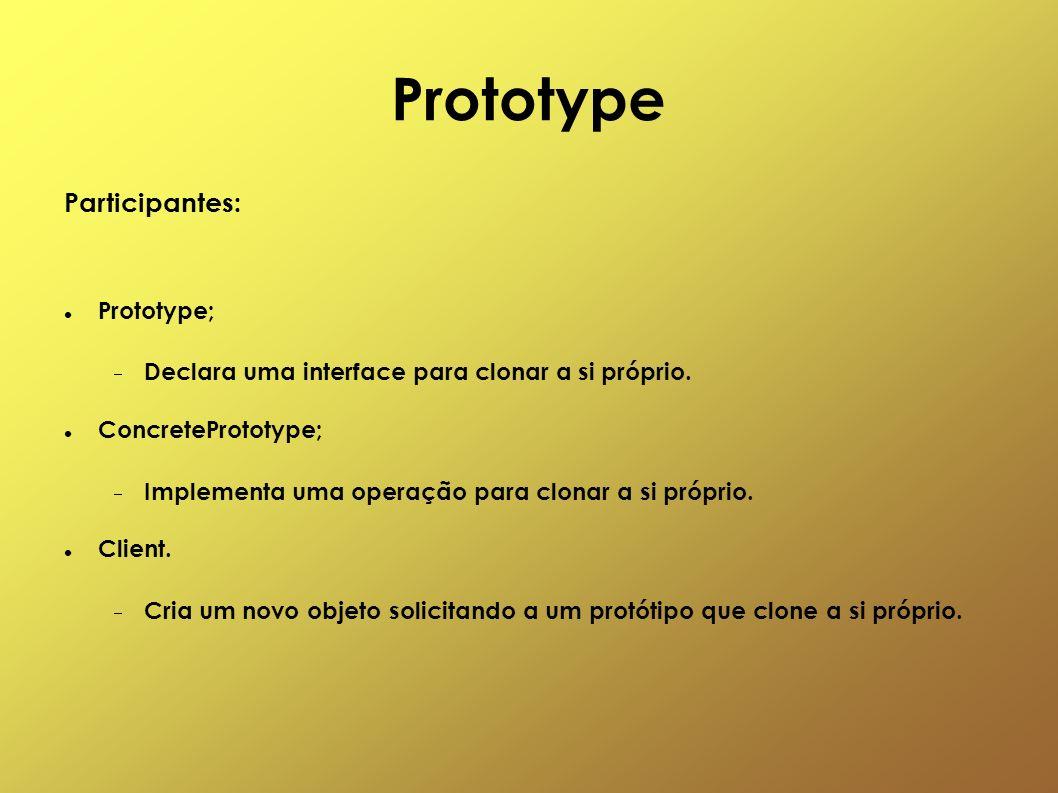 Prototype Participantes: Prototype;